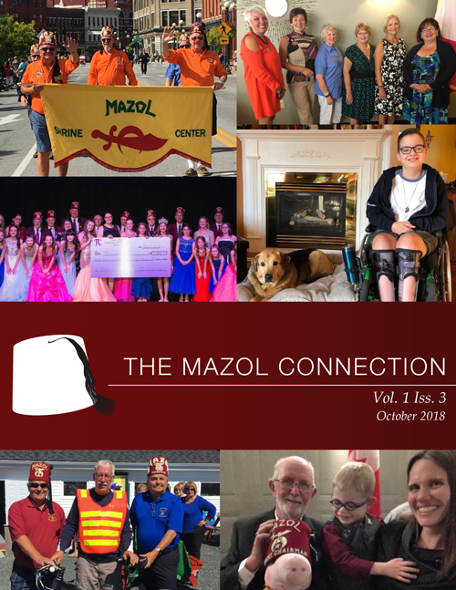 The Mazol Connection - Issue 3 Volume 1 - Cover